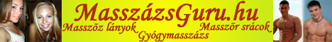 Masszőz lányok | Masszőr srácok | Gyógymasszázs - MasszázsGuru.hu